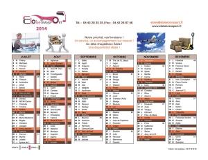 Calendrier-2014-Eloïse-Transport